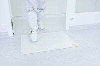 Bodenplatte für Klebefolienmatte