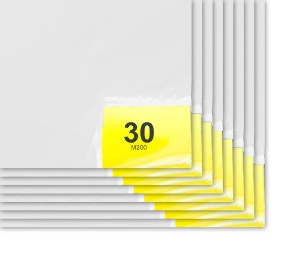 Klebefolienmatte (starke Haftung) 66 x 114 cm Weiß